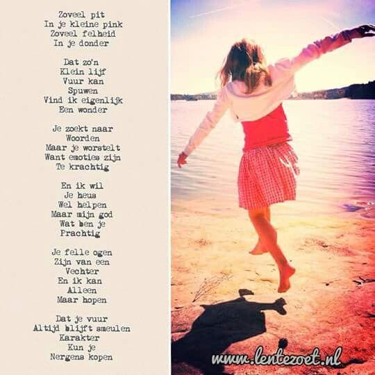 Lentezoet gedicht