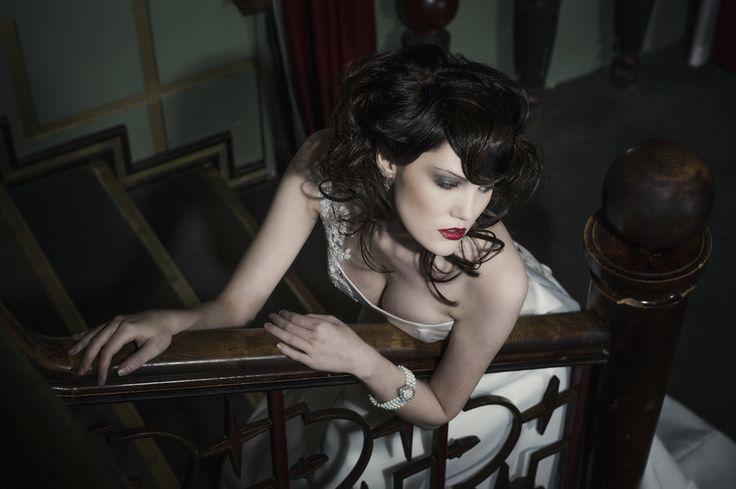 Eva  Designer Aurora Raiskinen Photo ByMikaelas MUAH Kati Suokas/ Glohair Model Fia