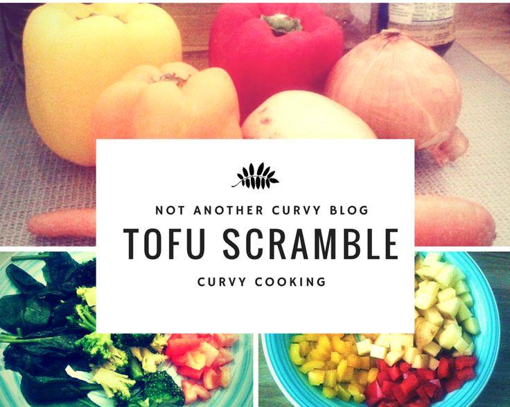 Tofu Scramble Recipe! Get full details on the blog!