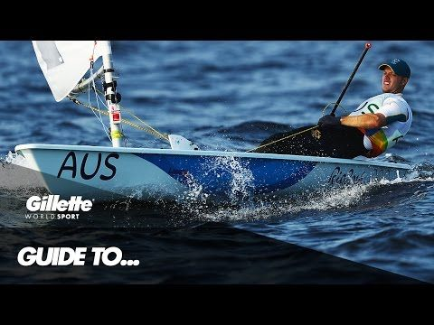 Guide to Laser Class Sailing with Olympic Gold Medallist Tom Burton | Gillette World Sport - YouTube