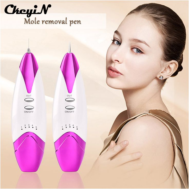 Electric ion Laser Mole Removal Spot Freckle Fleshy Nevus Remove Pen Mechine Fluorescence Lamp Beauty Device + Needles A50