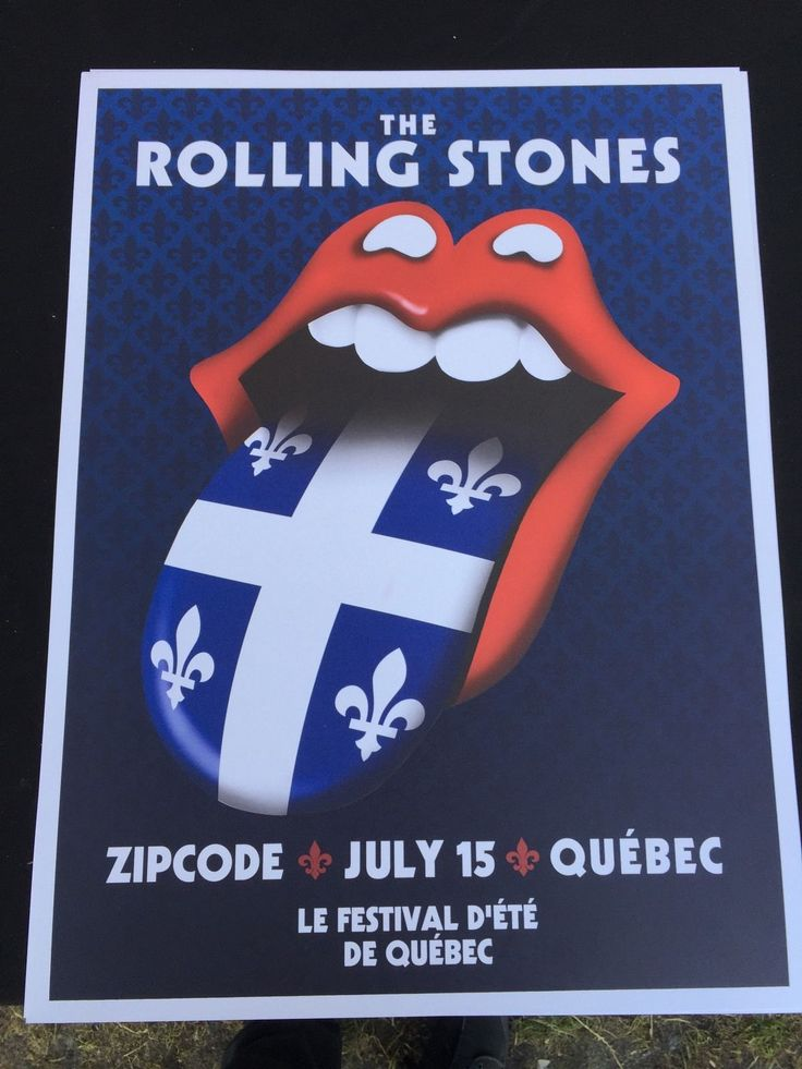 The Rolling Stones - ZIP Code Tour - Quebec - Canada