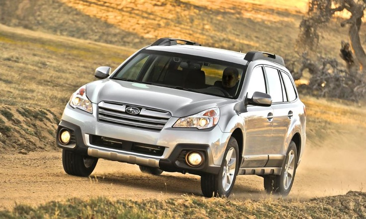 The 2013 Subaru Outback 2.5i Limited receives an EPA estimated 30 mpg on the highway.  Photo by Subaru.