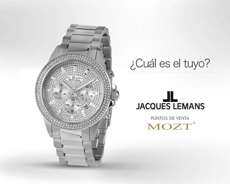 Jacques Lemans, Relojes de lujo para complacer tu buen gusto Visita nuestras tiendas en Bogotá: CC. Andino Local 226 • Cel: 318 629 6610 CC. El Retiro Local 1-140 • Cel: 317 586 0665 CC. H. Sta Bárbara Local D-136 • Cel: 318 889 4707 CC. Palatino Local 2 - 23 • Cel: 318 341 8128 www.mozt.com.co