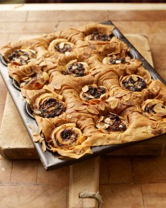 Special mince pies using a combination of puff and filo pastry. Delicious and fun to make! #christmas