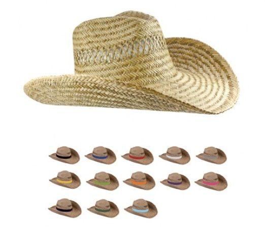 Zomerse hoed. Modieus beschermd tegen de zon.