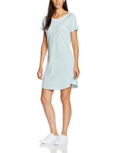 #Tommy #Hilfiger #Damen #Kleid #Penne #Sn #Dress #Ss, #Blau #(Blue #Haze #470), #34 #(Herstellergröße: #XS)…