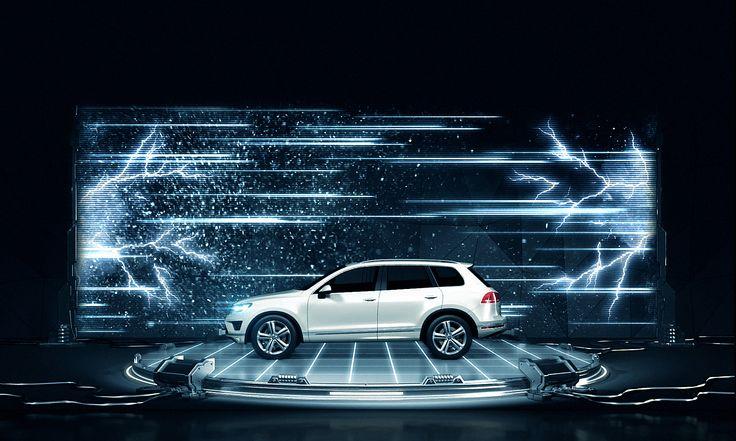 #3Dmapping #Презентация #Volkswagen #Touareg #mapping #DreamLaser #3dsmax #videomapping #projection #VW #DL #проекционноешоу