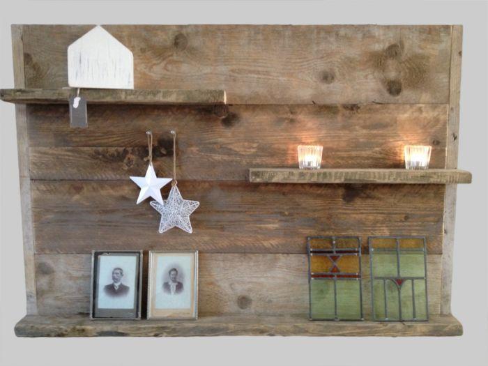 Meer dan 1000 idee n over pallet fotolijstjes op pinterest for Zelf muurdecoratie maken