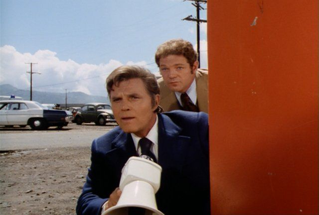 Jack Lord and James MacArthur in Hawaii Five-O
