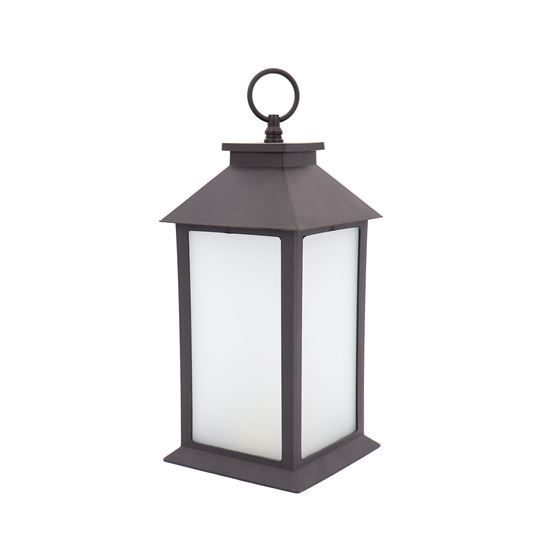 Lighten Up Any Room With This Clic Led Lantern Plastic Features Light