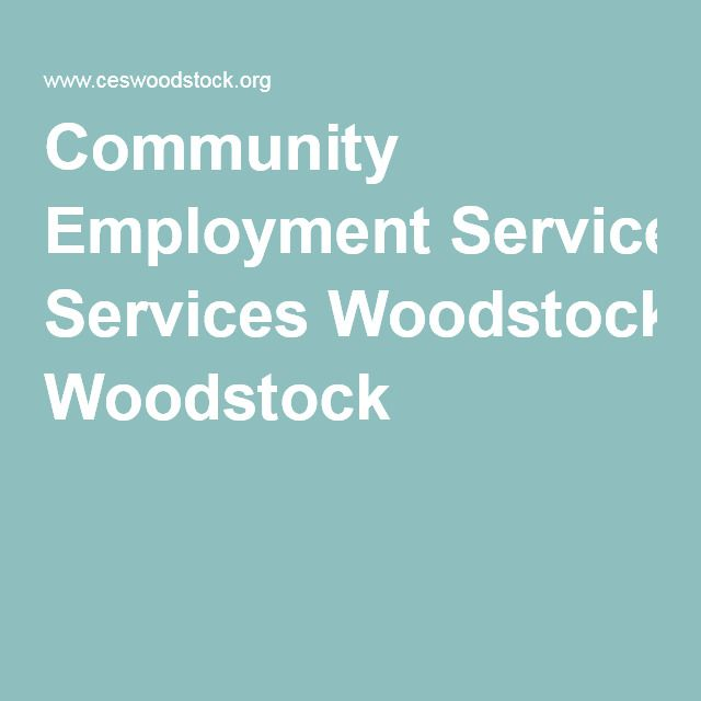 Community Employment Services Woodstock