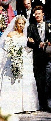 21 September 1990  Princess Desiree von Hohenzollern and Henri von Ortenburg