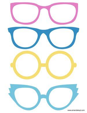 新しい2015シンデレラインスピレーションを受けて印刷可能なフォトブースプロップセットからメガネ