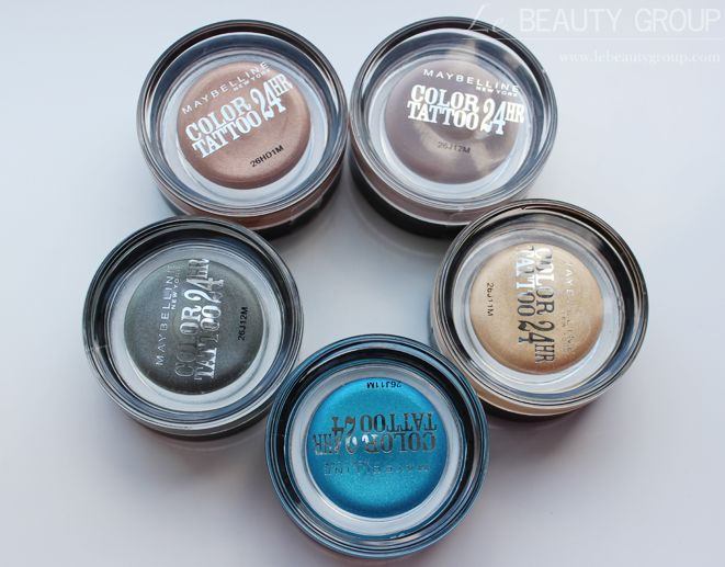 i used this and its the best makeup i own and actually last 24 hours i reccomendd!! Maybelline Color Tattoo 24hr Gel Cream Eyeshadows