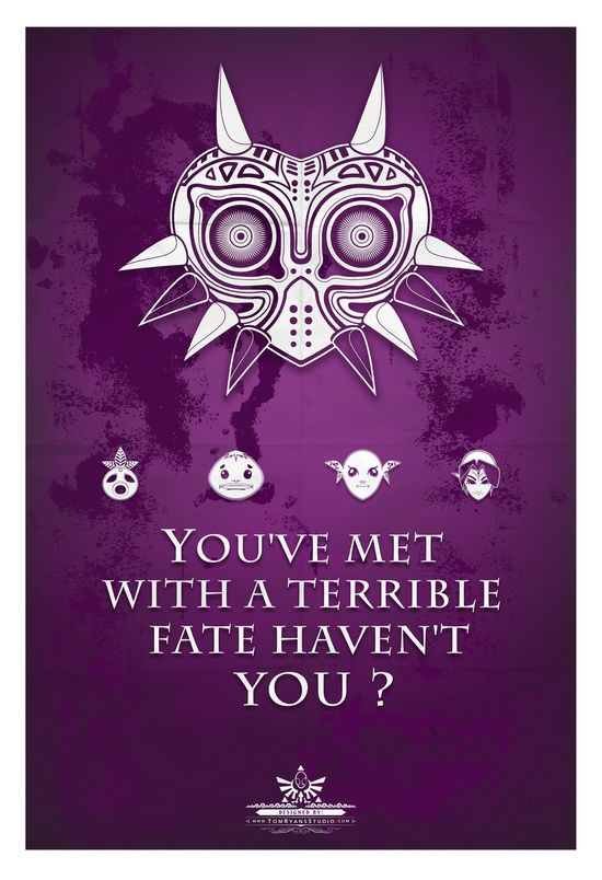 legend of zelda majora's mask quote - Google Search