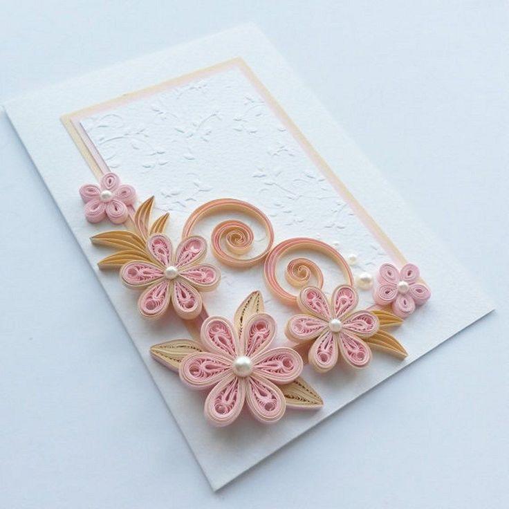 Картинки, квиллинг открытки для девочки
