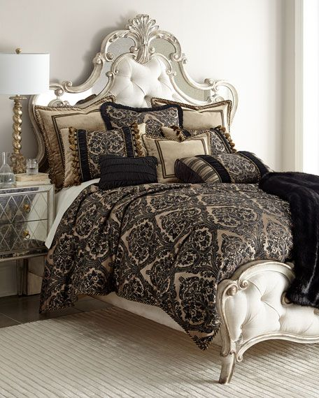 florence jet bullion fringe pillow x