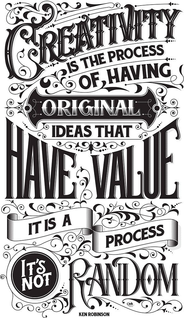 50 Gorgeously Illustrated Typography Quotes To Kickstart Your Creativity –…                                                                                                                                                                                 More