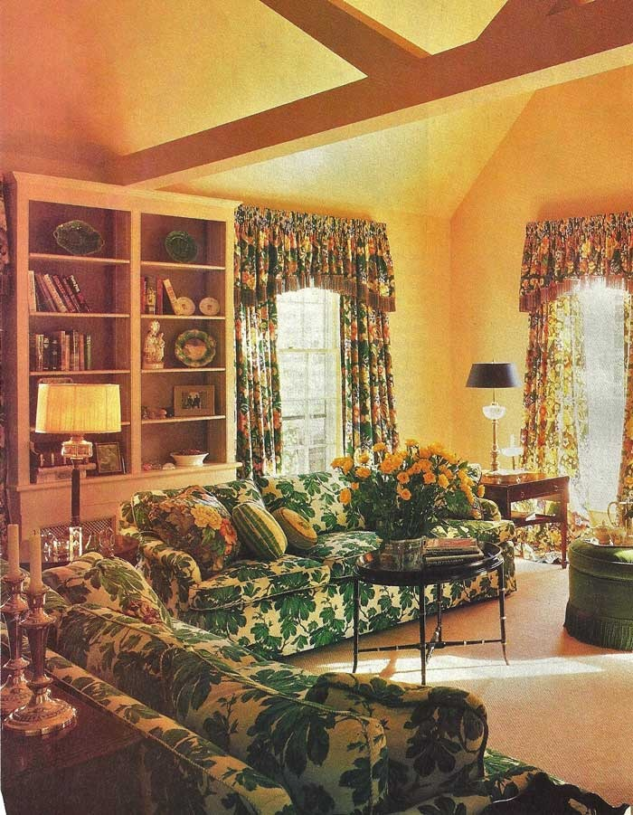 Yellow And Green Living Room Decorative Rooms Pinterest