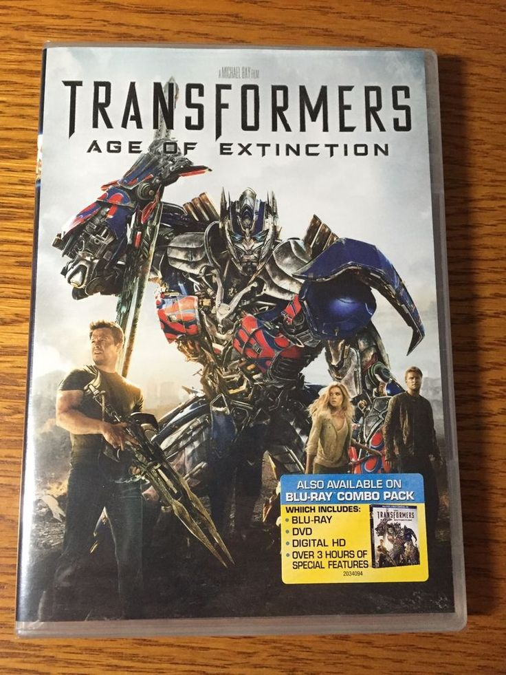 Transformers: Age of Extinction (DVD, 2014) Mark Wahlberg