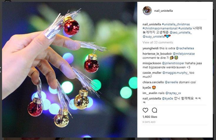 Kynnetkin+saivat+osansa+joulun+erikoisista+kauneustrendeistä:+Joulupalloja+kiinnitetään+nyt+kynsiin