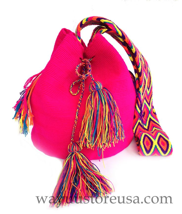These Authentic Wayuu bags are tightly hand woven by the Wayuu artists and artisans, an indigenous tribe of the La Guajira Peninsula in northern Colombia. There are made from cotton threads using the crochet technique. The artisan takes between 14 to 20 days to weave it, making more than 5000 stitches to complete it. The crochet patterns are a traditional design that represents the way the Wayuu interpret and abstract elements of their material world of everyday life. Visit…