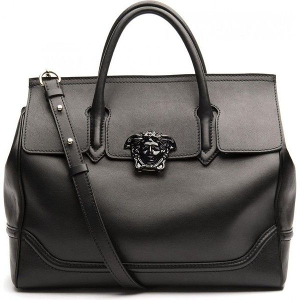 Versace Palazzo Empire Bag ❤ liked on Polyvore featuring bags, handbags, versace handbags, versace purses, versace bags and versace