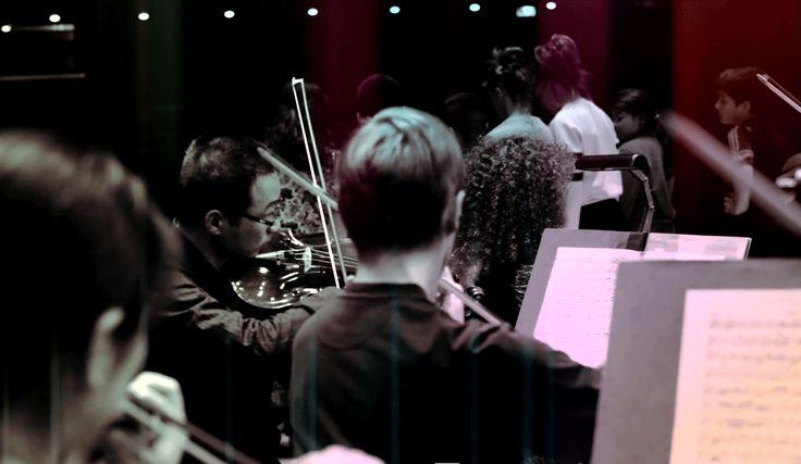 La Danse Fantastique J-1 par l'Orchestre de Cannes et la Compagnie Humaine. #danse #orchestre