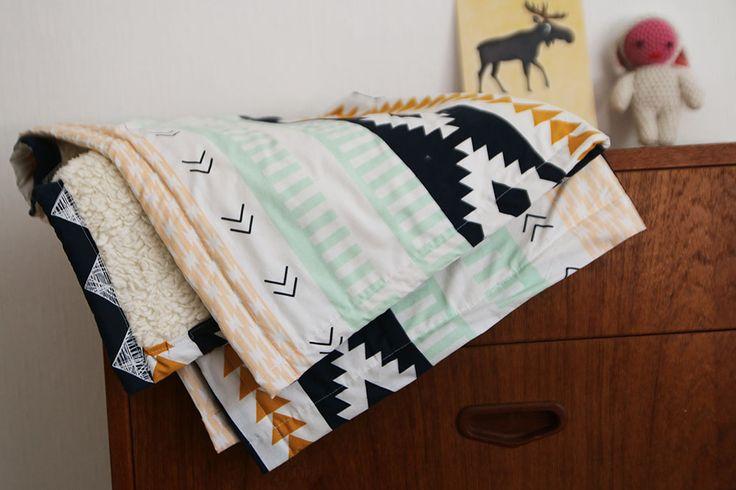 Tutorial babydeken naaien voor beginners | Allihoppa