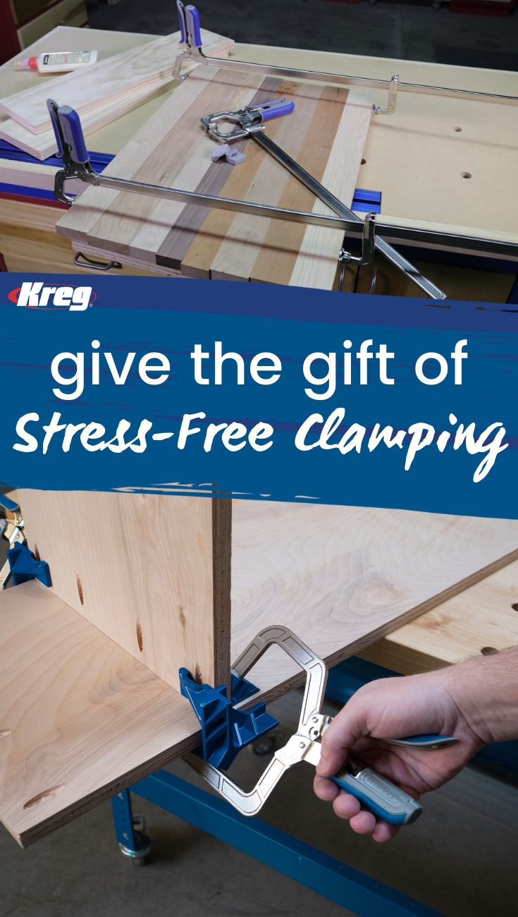 DIY Woodworking Ideas Gift the Gift of Stress-Free Clamping