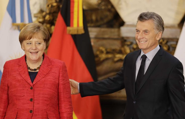 """The chancellor has criticized the U.S. protectionist stance and called President Donald Trump's decision to withdraw from the Paris climate pact """"extremely regrettable.""""  Last year, Germany ranked as Argentina's fourth-biggest trade partner after Brazil, China and the U.S. Merkel noted that her visit to Argentina comes after Macri helped Argentina end a legal dispute that returned it to international credit markets after nearly 15 years.  Macri, a former businessman and president of the…"""