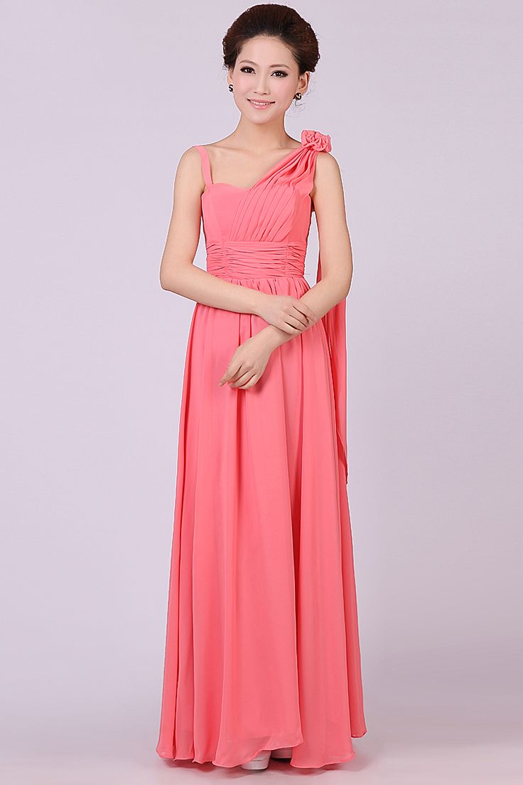 Encantador Rubí Rojo Vestidos De Dama Patrón - Colección de Vestidos ...