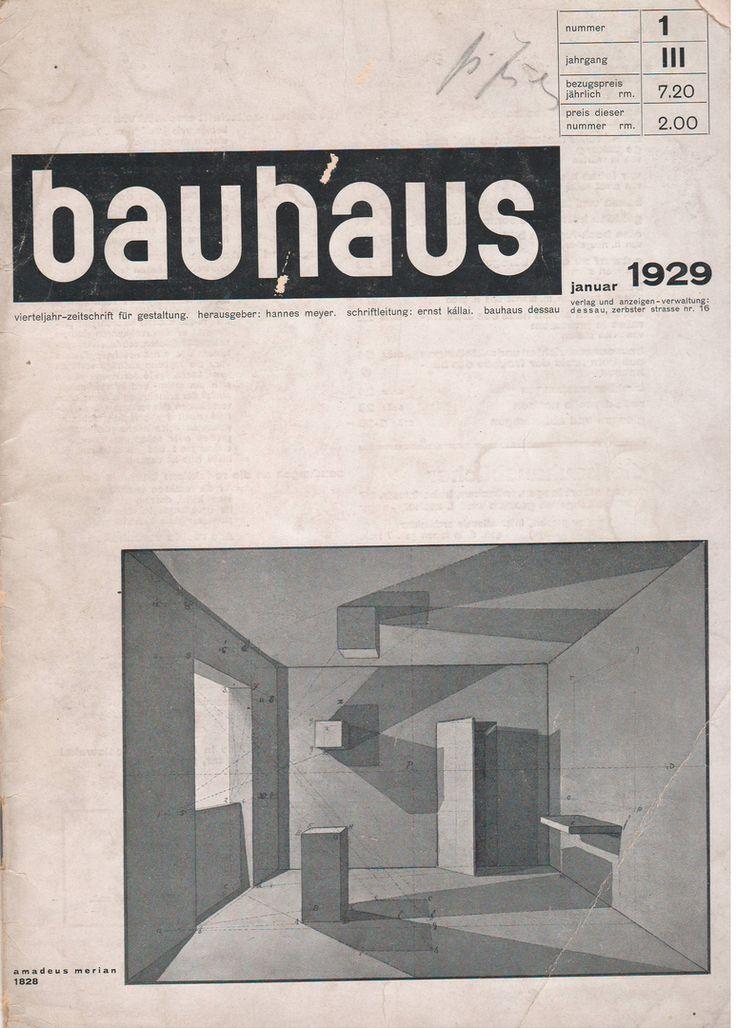 Bauhaus Zeitschrift für Gestaltung (Bauhaus Magazine for