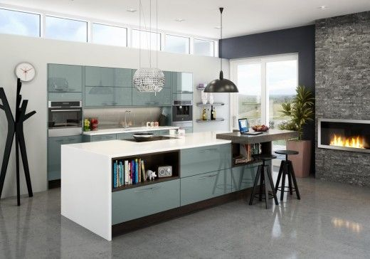 Astral Blue kitchen from Magnet