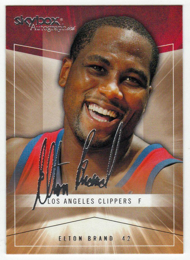 Elton Brand # 6 - 2004-05 SkyBox Autographics Basketball