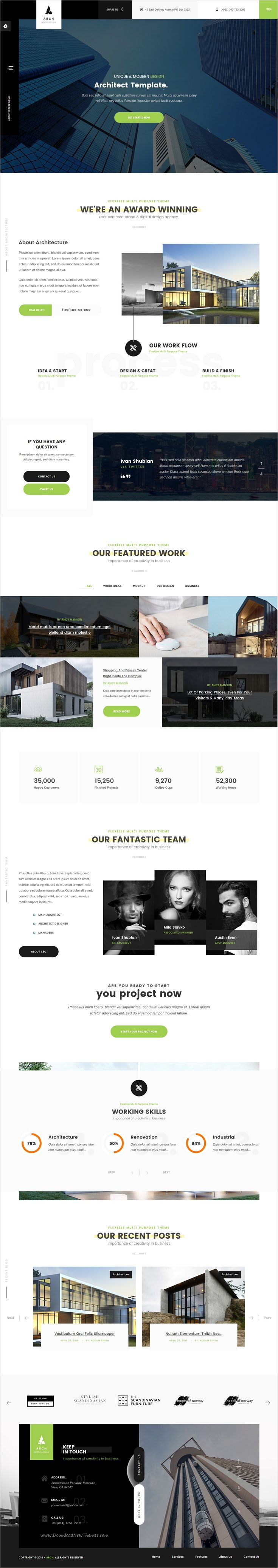 Arch is a Premium One page & Multi-page #bootstrap #template best suitable for #webdev Design #Architecture, Engineering agencies, photographers and personal portfolios related services website download now➩ https://themeforest.net/item/arch-multipurpose-onepage-multipage-html-template/18567948?ref=Datasata