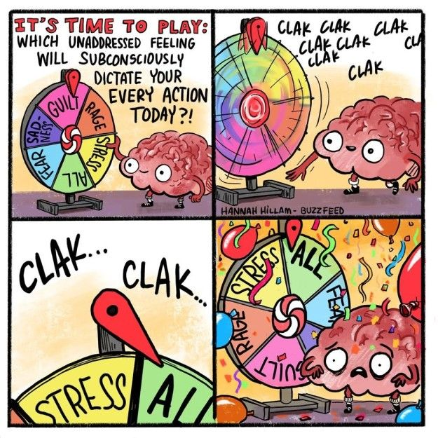 If you and your brain seem to have different plans for your day.
