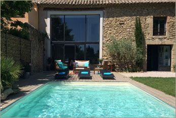location mas sainte cecile les vignes - 6personnes Mas avec Piscine, climatisé, beaucoup de charme...