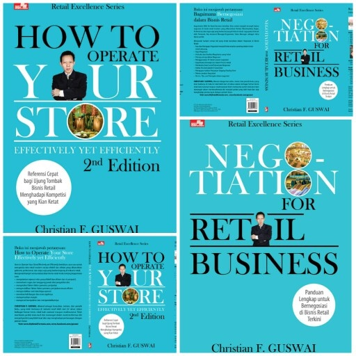 How to Operate Your Store Effectively yet Efficiently 2nd Edition and Negotiation for Retail Business