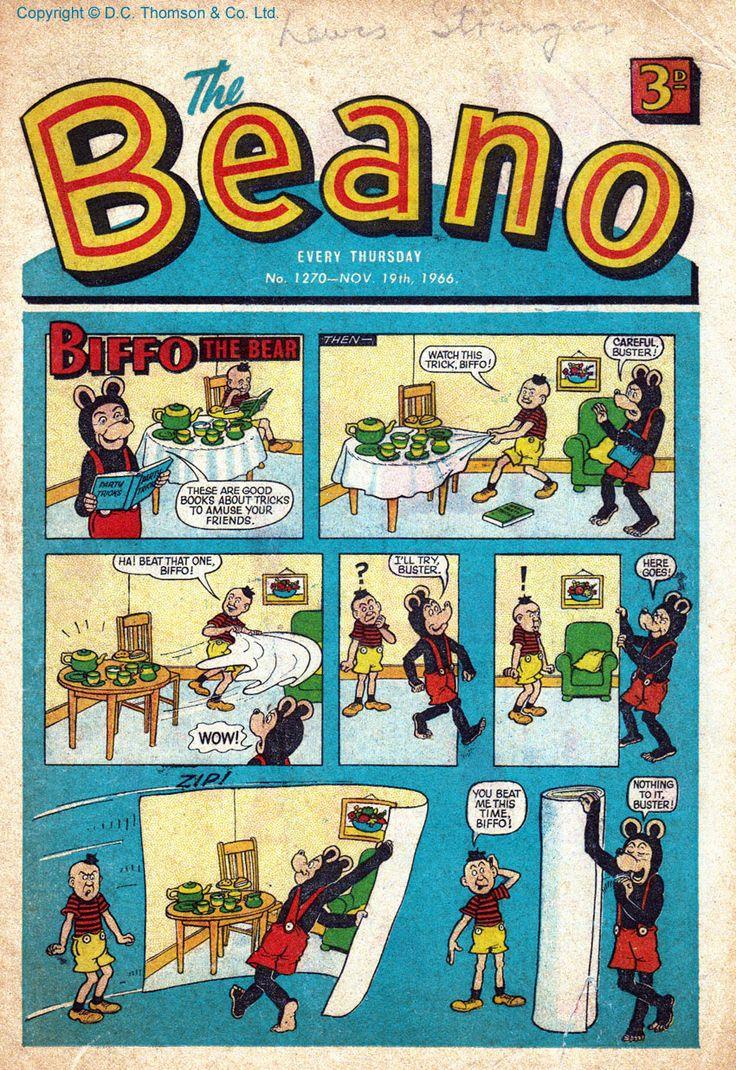 The Beano, 19/11/1966.