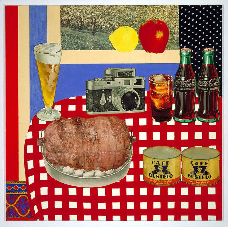 """""""Still Life"""" Tom Wesselmann Pop Art"""