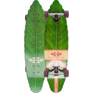HABITAT SKATEBOARDS Leaf Lines Cruiser #leaf #skateboard #habitat