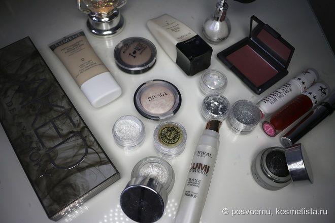 Однажды был рождественский макияж — Отзывы о косметике — Косметиста