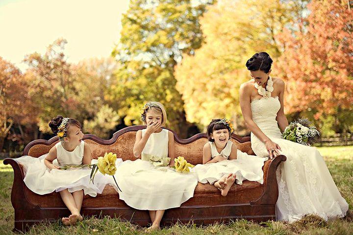 Дети на свадьбе, что стоит учесть?