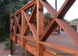criss cross deck railing - Google Search   Building a deck ...