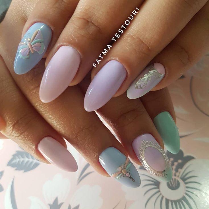 Модный дизайн ногтей лето 23 | Manicur23 | Дизайн ногтей ...