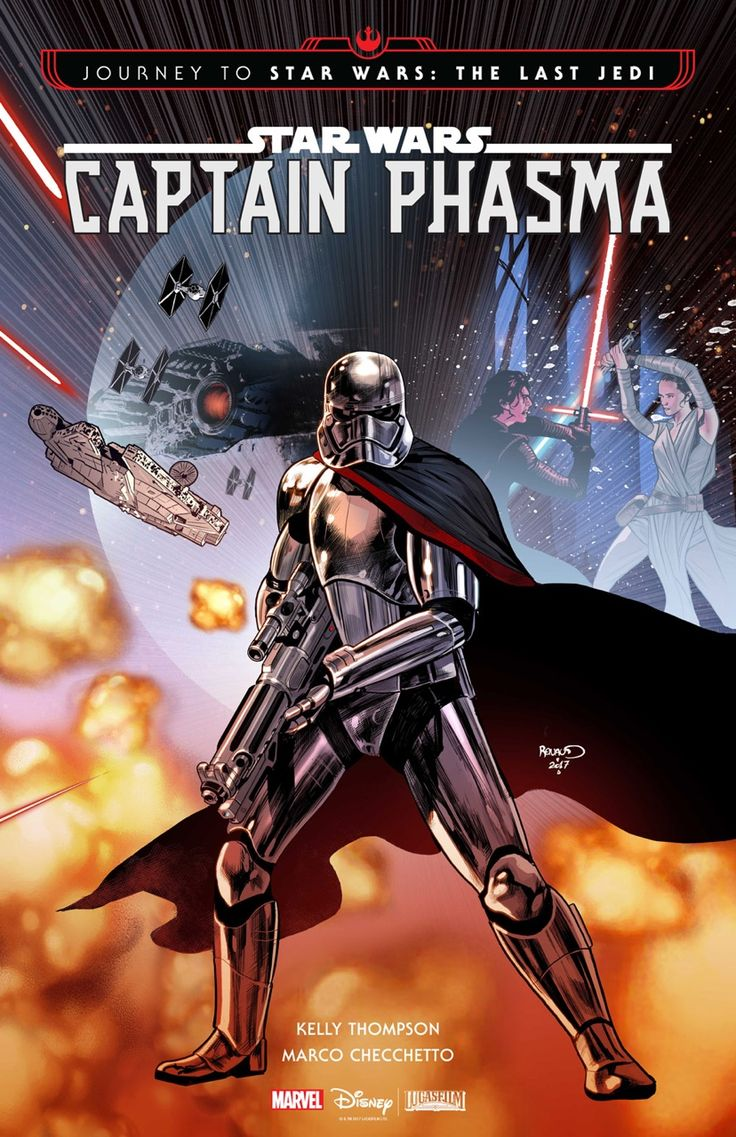 More Star Wars from me, yay! Working on the cover for issue 2 with writer Kelly Thompson just now, and loving it. Also, the amazing Marco Checchetto is drawing the interior, so it's sure to be drop...