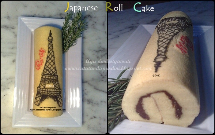 Japanese Roll Cake  www.catatandapurdini.blogspot.com
