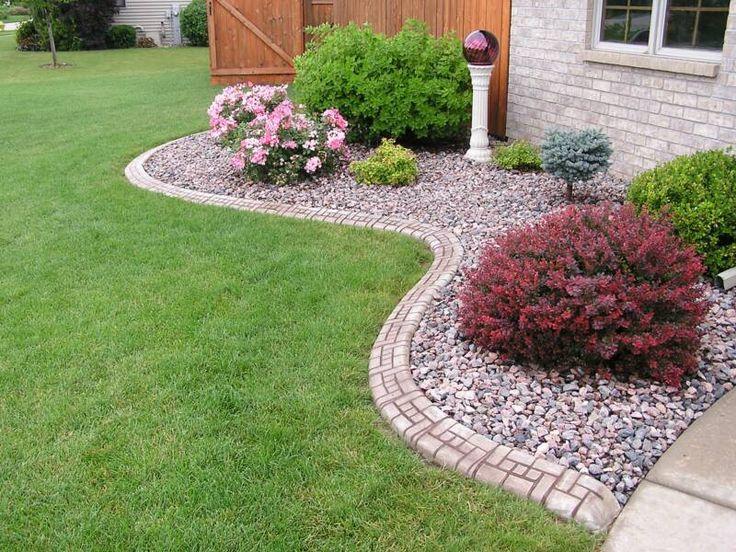 Concrete Landscape Curbing | Continuous Concrete Landscape Edging!